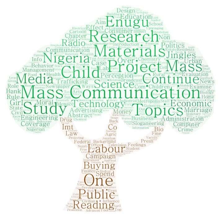Mass Communication Project Topics and Materials - Projectng