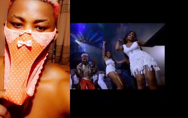 Coronavirus In Enugu: Nigeria Musician Wear His Girlfriend Pant